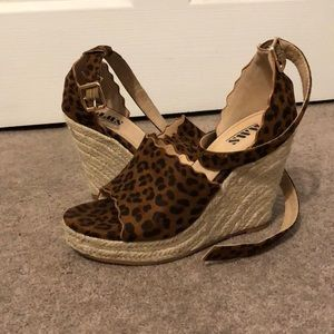 Shoes - Cheetah Wedges!